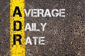 Average daily rates